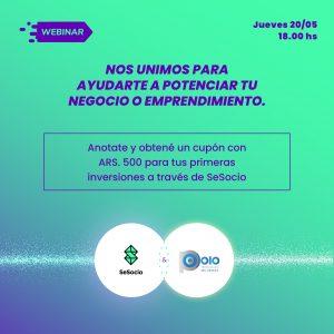 Webinar SeSocio.com + Polo Tecnológico del Paraná